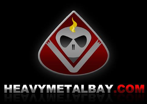 HeavyMetalBay.com logo design