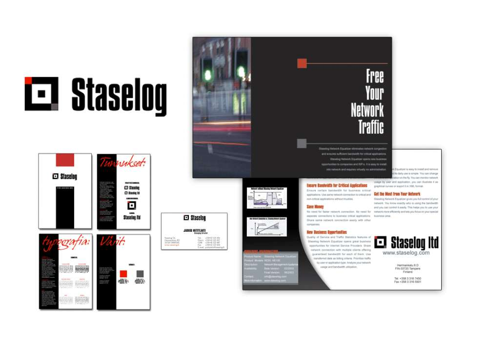 Staselog corporate identity