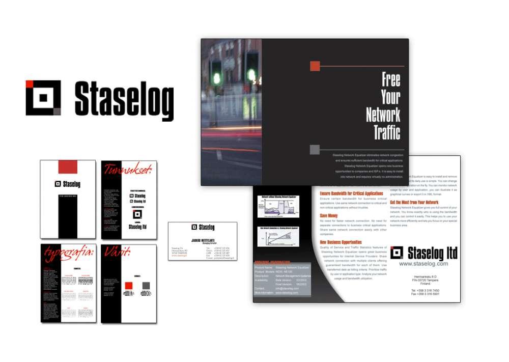 Staselog corporate identity