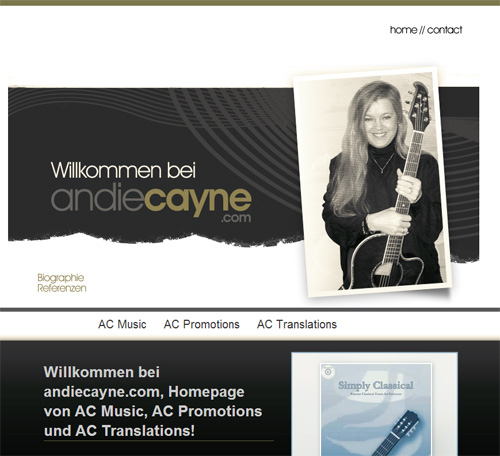 AC Music website