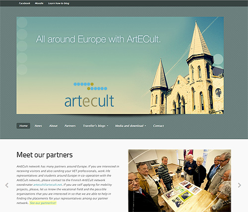 ArtECult website