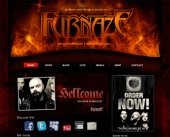 Furnaze website