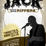 Jack and the Rippers gig poster