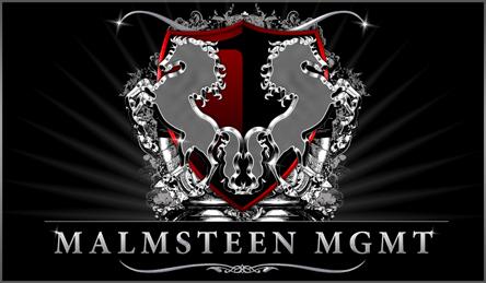 Malmsteen MGMT logo design