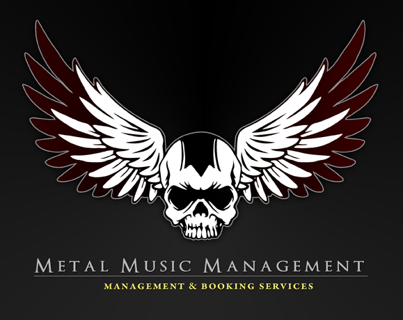 Metal Music Bookings logo design