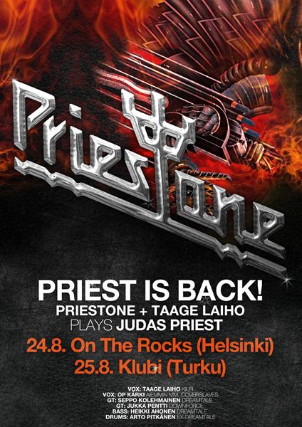 Priestone posters