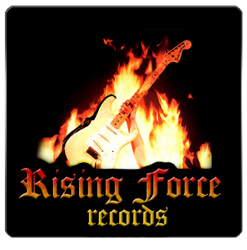 Rising Force Records logo design