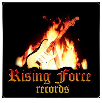 Rising Force Records logo design