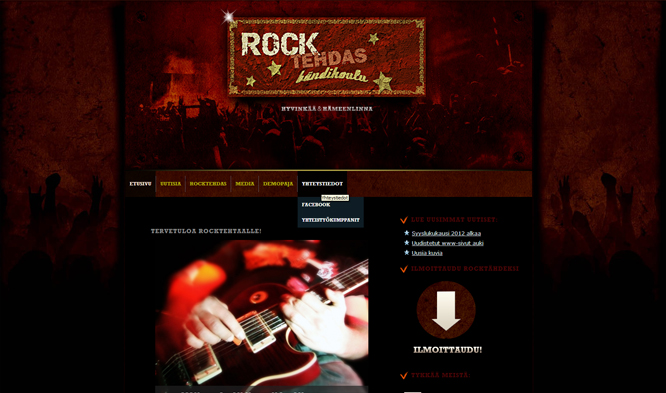 Rocktehdas website