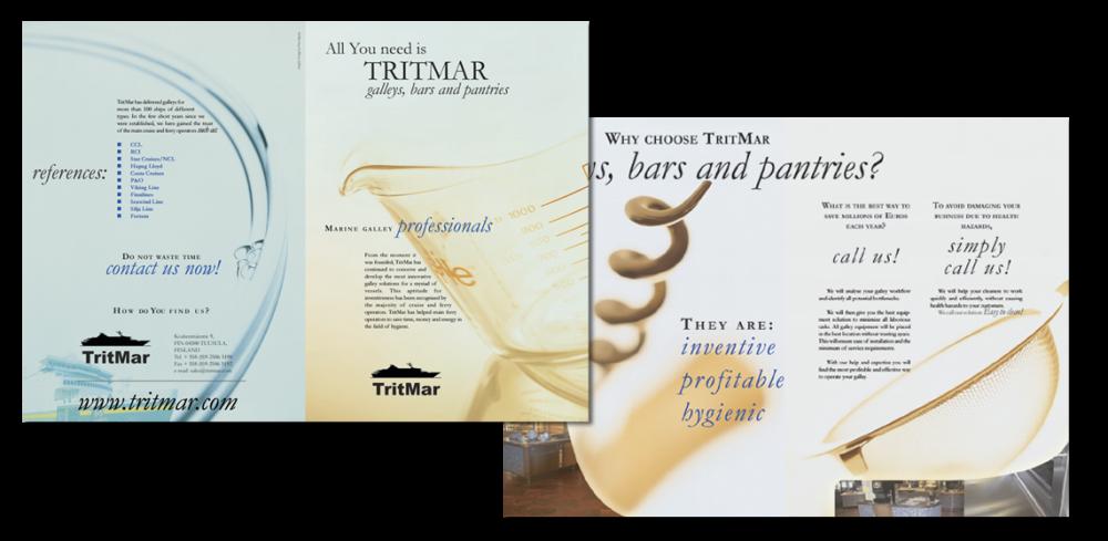 Tritmar brochure design