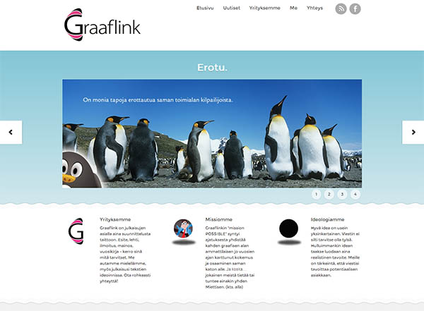 Graaflinx.com website