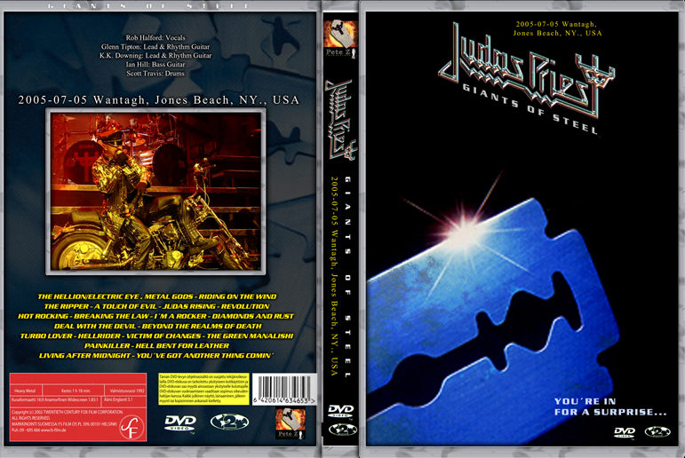 Unofficial DVD-covers