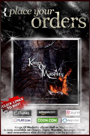Kings of Modesty website