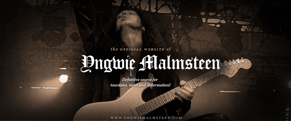 Yngwie Malmsteen website