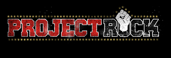 Project Rock logo design