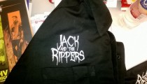 Jack and the Rippers logo and t-shirt design
