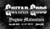 Guitar Gods logo and poster art