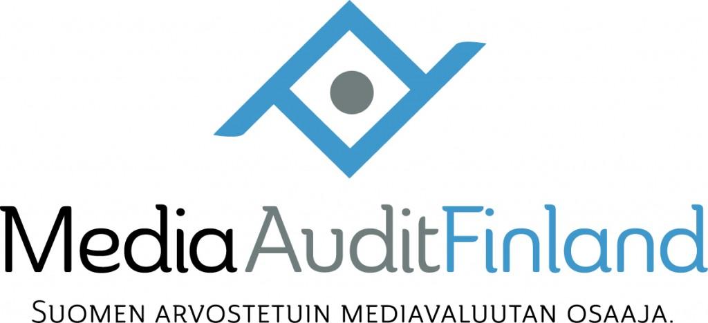 MediaAuditFinland logo design by Pete Alander