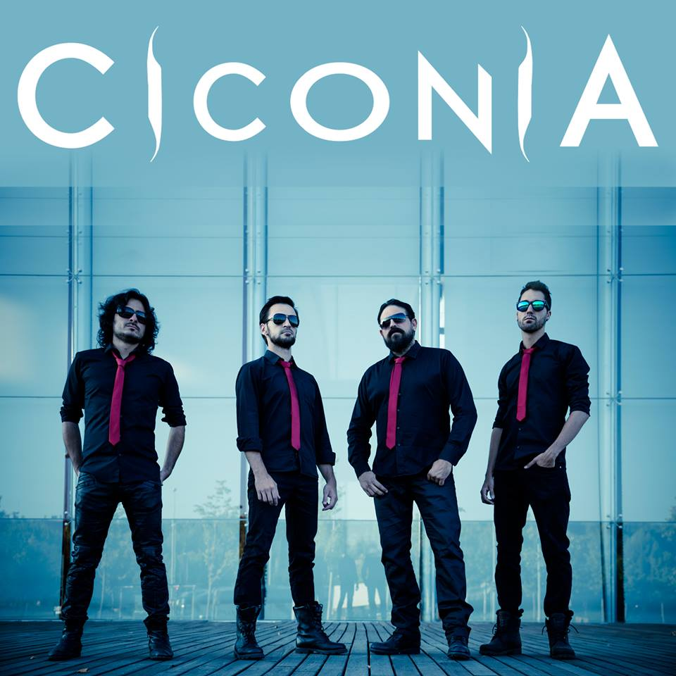 Logo design for Spanish based instrumental band Ciconia