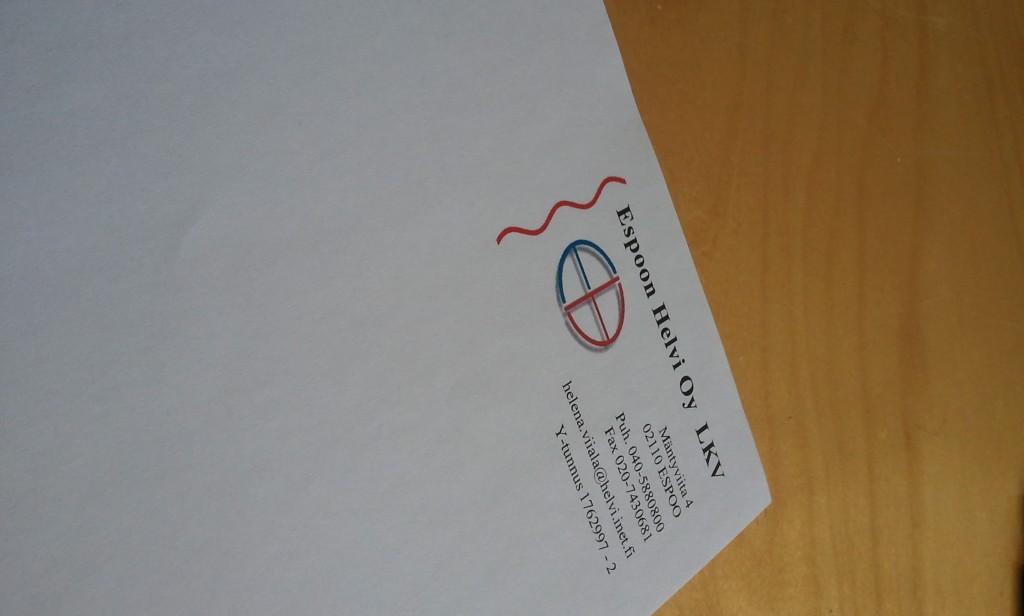 Old letterhead
