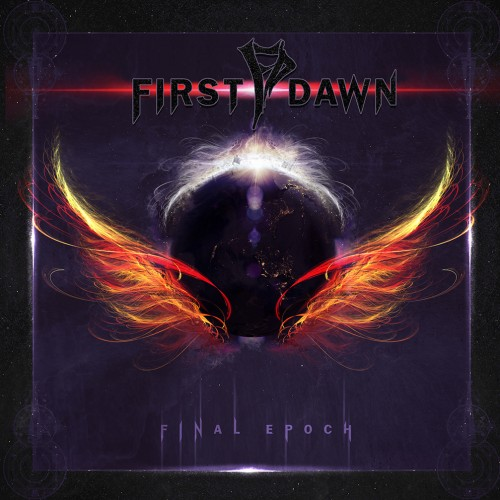 "Album artwork for First Dawn debut album ""Final Epoch"""