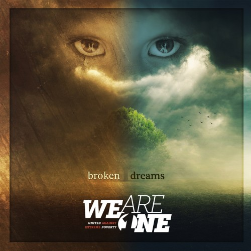 "We are One ""Broken Dreams"" cover design by Pete Alander"