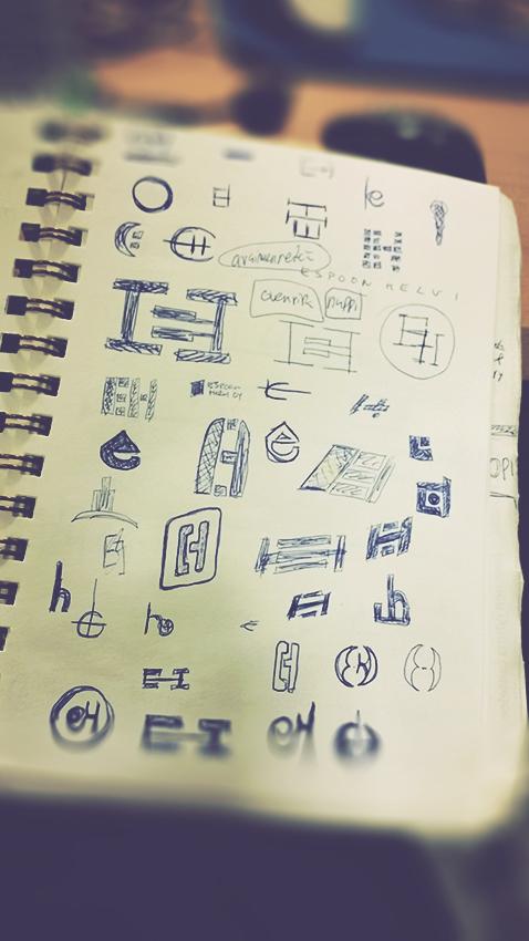 Espoon Helvi logo mockups by Pete Alander