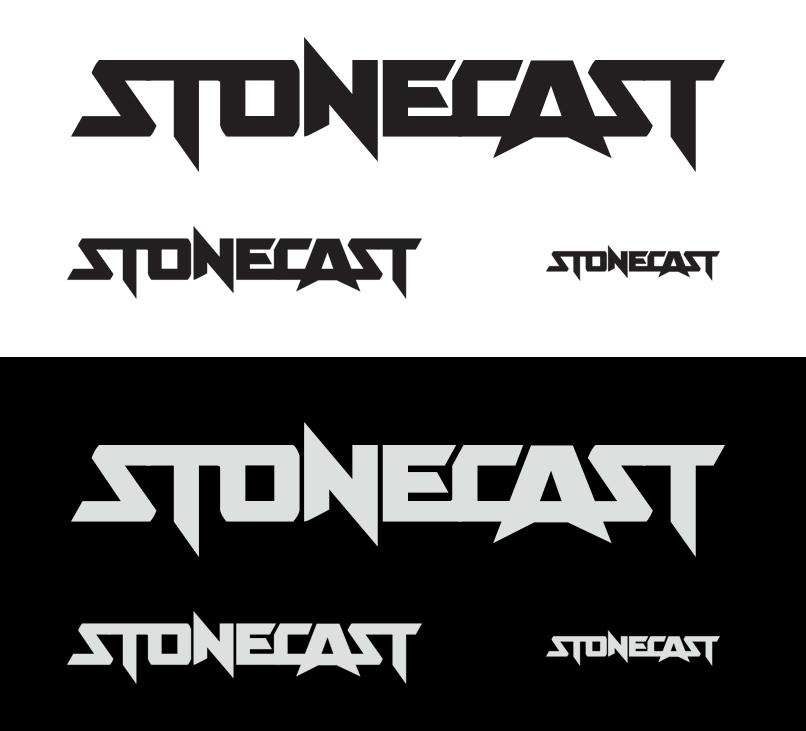 Stonecast logo by Pete Alander