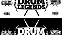 Drum Legends logo design (Rarebell/York/Baker)