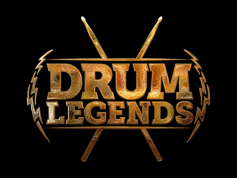 Drum Legends logo by Pete Alander / Bandmill