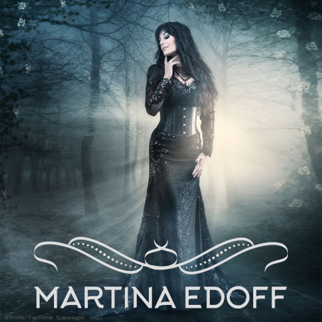 Logo design for Martina Edoff by Pete Alander, Bandmill