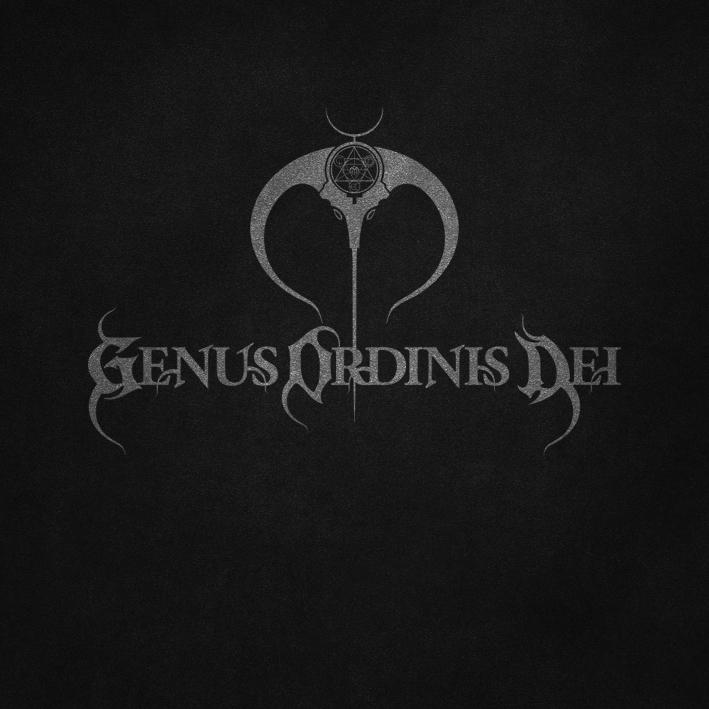 Genus Ordinis Dei logo design by Pete Alander, Bandmill