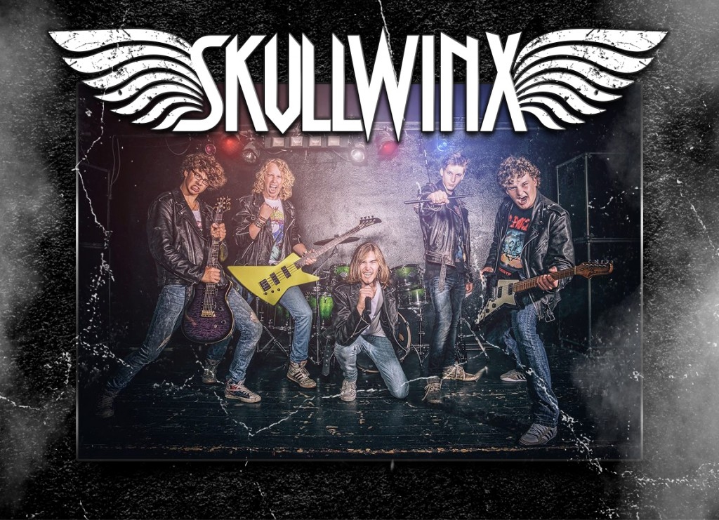 Skullwinx logo by Pete Alander, Bandmill