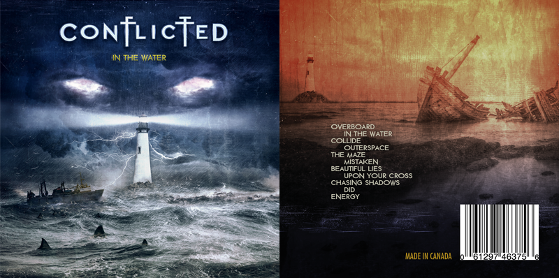 Conflicted album cover by Pete Alander