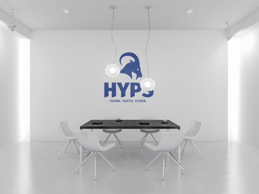 HyPS normaali logo