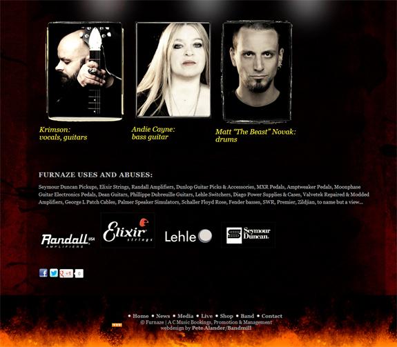 Furnaze website