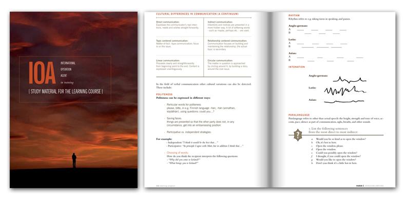 IOA in Training - book design