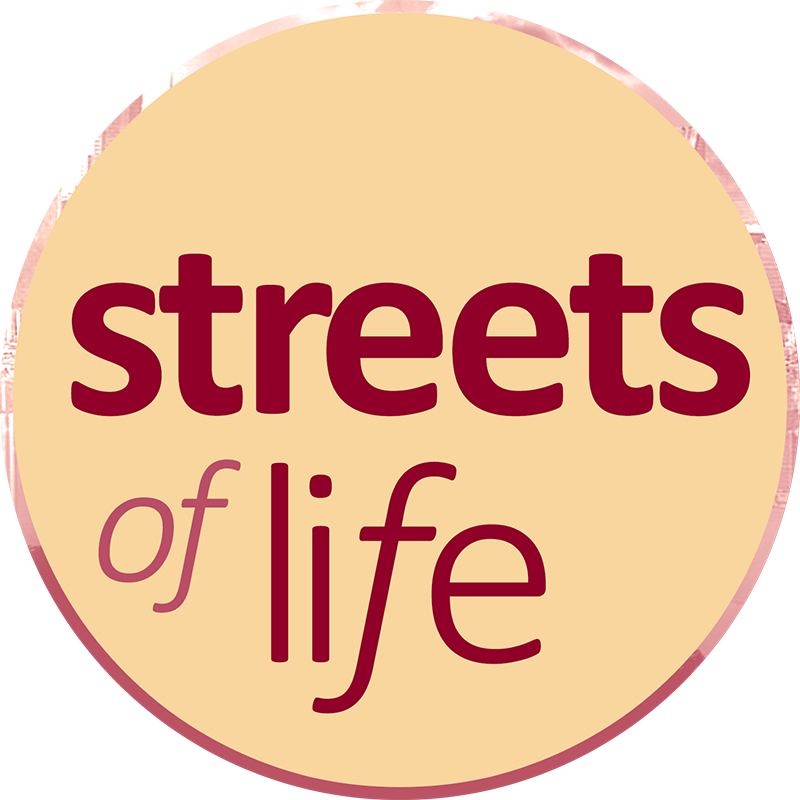 streets of life logo by bandmill