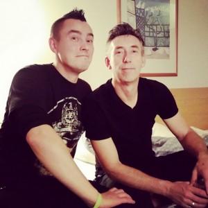 Pete Alander With Tomas Pareigis From Fatboy