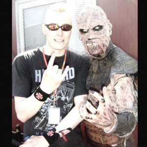 Pete Alander from Bandmill With Amen from Lordi