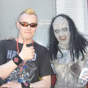 Pete Alander from Bandmill With Awa from Lordi