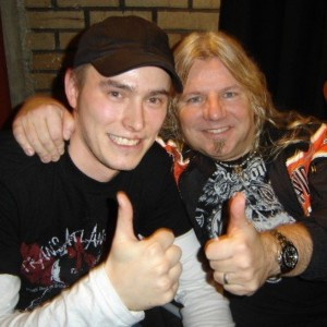 Pete Alander from Bandmill With Mat Sinner