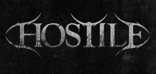Album artwork and logo design for Hostile by Pete Alander from Bandmill