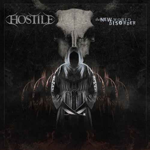 Hostile album artwork design for Hostile by Pete Alander from Bandmill