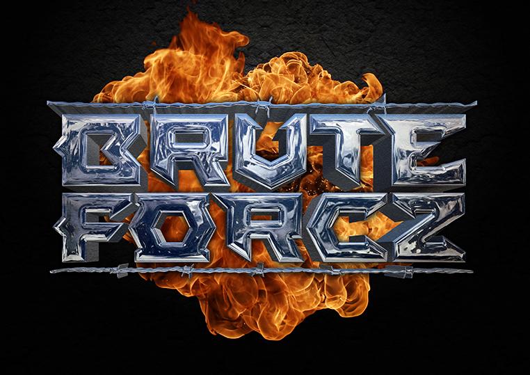 Brute Forcz logo design by Pete Alander/Bandmill