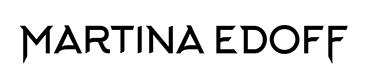Logo design for Martina Edoff by Pete Alander, Bandmill