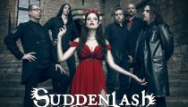 Suddenlash logo design